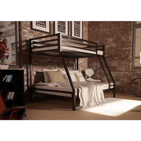Your zone premium twin bunk bed multiple colors by your zone silver
