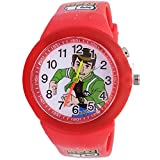 Super Drool Red Dancing Light Kids Wrist Watch