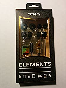 buy Sentry Xtraem Elements Stereo Earbuds With In-Line Mic Hm310