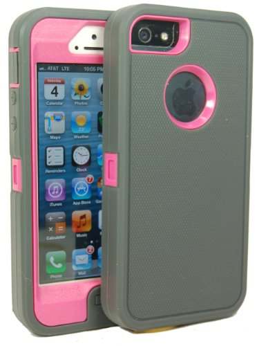 Iphone 5 Body Armor Defender Case Comparable