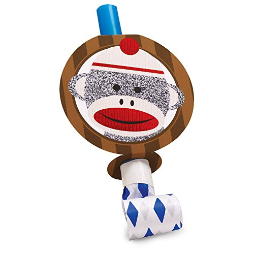 Sock Monkey Red Blowouts (8)