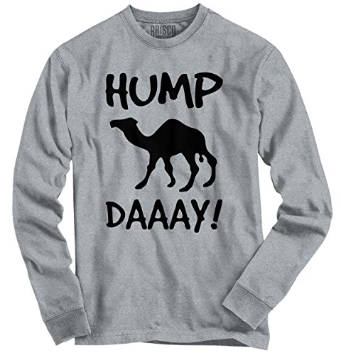 Hump Day Camel Wednesday Hate Work Funny Novelty Gift Ideas Long Sleeve Tee