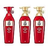 Ryoe Hanbitmo Herbal Anti Hairloss Damaged Hair (Shampoo 400mL X 2, Conditioner 400mL X 1)