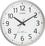 CITIZEN (シチズン) 掛時計 スペイシーM463 電波時計 オフィスタイプ 見やすいフォント 8MY463-019