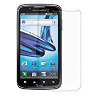 Amzer AMZ92630 Anti-Glare Screen Protector With Cleaning Cloth For Motorola ATRIX 2 MB865