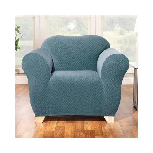 Amazoncom Stretch Stone Chair Slipcover in Teal Box  : 51Ay7ubnd5LSS500 from amazon.com size 500 x 500 jpeg 42kB