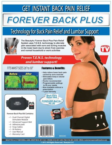 Forever Back Plus Massager Also Great For Muscle Recovery