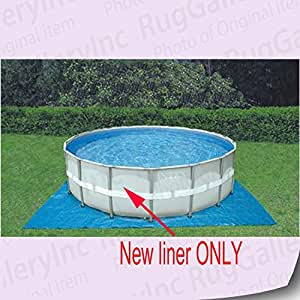 intex 18 39 x 48 ultra frame pool liner only patio lawn garden. Black Bedroom Furniture Sets. Home Design Ideas