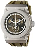 Invicta Mens Reserve Russian Diver Akula Swiss Made Chronograph Green Polyurethane Watch 12004