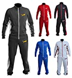 XXR Wolf Track Suit Fleece Tracksuit Jacket with Trousers Top and Bottom Set Exercise Fitness Boxing MMA Gym Sweating Cross Fit Training Casual Clothing Active Wear