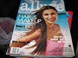 Allure Magazine (AURELIE CLAUDEL , Klutz-Proof Hair & Makeup , How Gwyneth , Ashley & Halle Get Glitzed, February 1999)