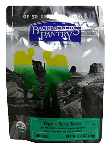 Backpacker's Pantry Organic Spicy Omelet, One Serving Pouch (Organic Freeze Dried Eggs compare prices)