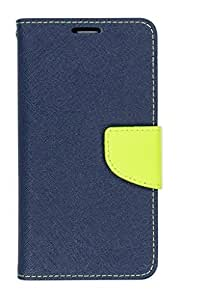 DENICELL Royal Dairy Style Flip Cover For Samsung Galaxy YOUNG 2 (LAPIS BLUE)