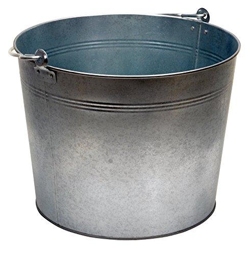 Vestil-BKT-GAL-500-Galvanized-Steel-Bucket-10-34-Depth-5-gallon-44-pound-Capacity
