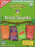 Annie's Homegrown Organic Vegan Fruit Snacks Variety Pack 42 Pouches - .8 Oz. Each