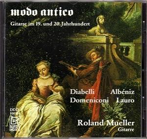 Anton Diabelli, Carlo Domeniconi, Isaac Albeniz, Antonio