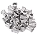 Switches M10 Threaded Rivet Nut Inserts Nutsert 10mm Pack of 25