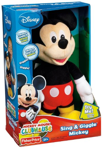 Mickey Mouse Doll Sings Hot Dog Song