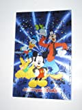 Disney Theme Park Exclusive Collectible Walt Disney World Mickey, Donald, Goofy & Pluto Foil Post Card