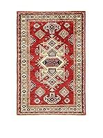 Eden Alfombra Kazak Super Rojo/Multicolor 92 x 137 cm