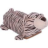 Twisha Tiger Shaped Soft Tissue Box (White)