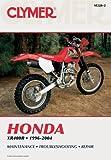 Honda XR400 R 96-04 (Clymer Motorcycle Repair)