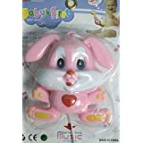 BABY FIRST FRIEND MUSICAL CRADLE RATTLE BELL RABBIT TOY FOR KIDS INFANTS TODDLER