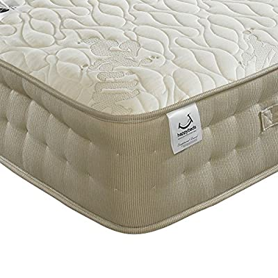 Happy Beds Milk Vitality 2000 Pocket Sprung Latex Memory Foam Mattress