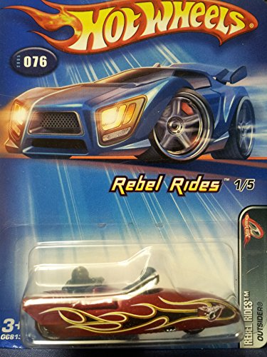HOT WHEELS #076 REBEL RIDES - 1