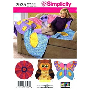 Simplicity 2935 Sewing Pattern Crafts Rag Quilts