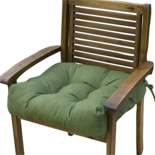 Greendale Home Fashions 20-Inch Indoor/Outdoor Chair Cushion, Summerside