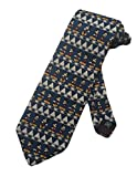 Mickey Unlimited Mens Mickey Donald Goofy Necktie - Blue - One Size Neck Tie