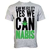 Can We Fix It, Yes We Cannabis Mens T-shirt