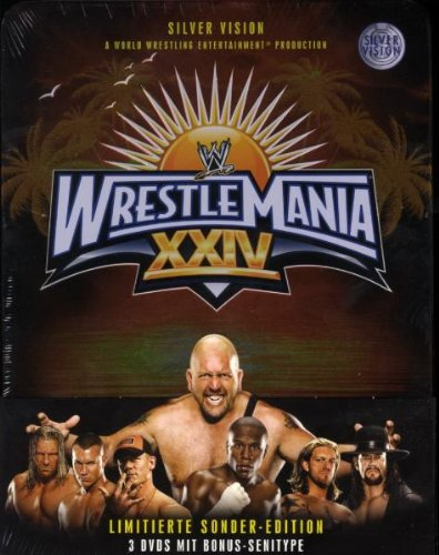 WWE - Wrestlemania 24 (3 DVDs, limitierte Tinbox) [Limited Edition]