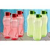 Tupperware Aquasafe Water Bottle Set, 500ml, Set Of 6