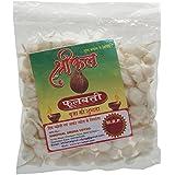 Shriphal Phool Cotton Batti Round Medium (15 Gm, White, Pack Of 12)