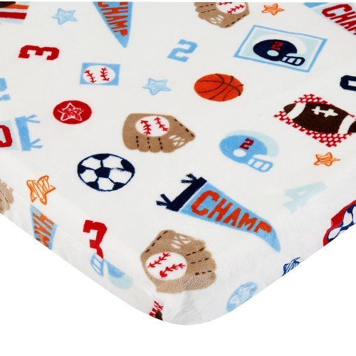 Babies R Us Sports Plush Changing Pad Cover