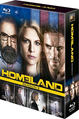 HOMELAND/ホームランド シーズン3 ブルーレイBOX [Blu-ray]