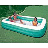 "Intex 58484E ""Inflatable"" 17 Gauge Vinyl Family Swim Center Pool 120""x72"""