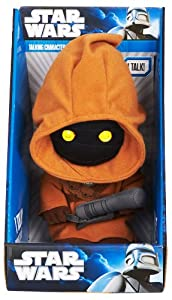 Star Wars 9 Inch Jawa Talking Plush with Light-Up Eyes