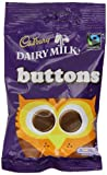 Cadbury Dairy Milk Chocolate Buttons 65 g (Pack of 18)