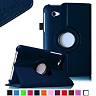 Fintie (Navy) 360 Degrees Rotating Stand Case Cover For Samsung Galaxy Tab 2 7.0 Inch Tablet -- Multiple Color...