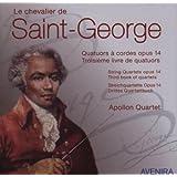 Le Chevalier de Saint Georges, les quatuors à cordes