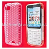 Clear Gel Rubber Shell Pouch Case Cover Shield For Nokia C3-01 From My Fone UK