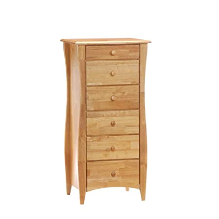 Night And Day Furniture Clove Lingerie Chest In Natural Finish