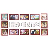 THINK3 BRAND FRIENDS PHOTO FRAME & COLLAGE PHOTO FRAME WITH BEAUTIFUL PREMIUM COLOURS COMBINATION CONTAINS 12...