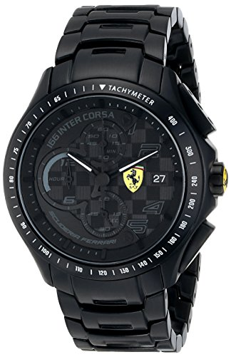Día de la carrera de Ferrari Scuderia reloj de los hombres 0830087
