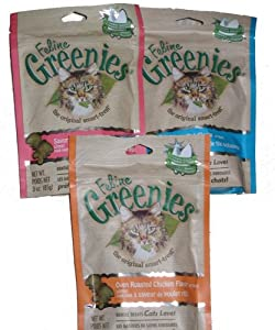 Feline Greenies 6 Pack - 15oz