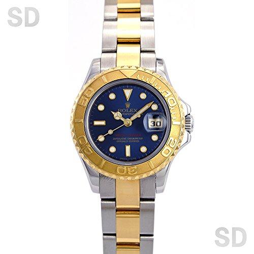 [ロレックス]ROLEX腕時計 ヨットマスター ブルー Ref:69623 レディース [中古] [並行輸入品]