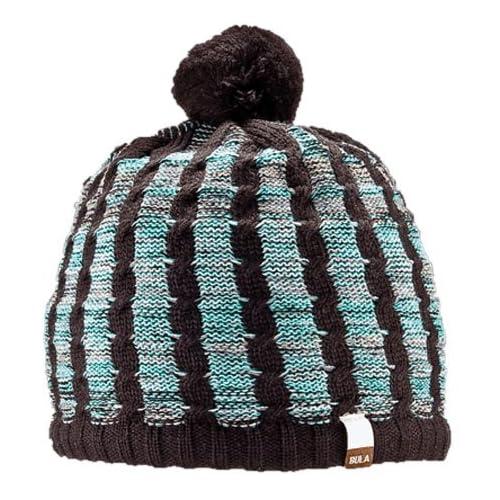 BULA(ブラ) Smug Beanie ポンポン付ニット帽子 サイズ:one size カラー:COFFEE